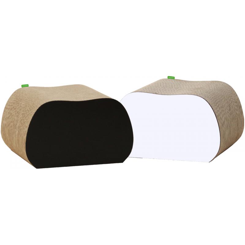 grand griffoir pour chat d coratif en carton cat apart. Black Bedroom Furniture Sets. Home Design Ideas