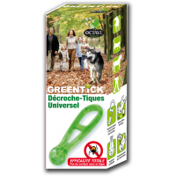 OCTAVE NATURE - Pince à tiques pour chat Greentick®