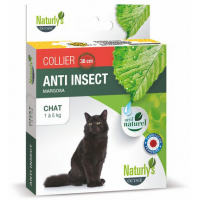 NATURLY'S - Collier anti-puces naturel pour chat Anti Insect