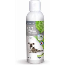 NATURLY'S - Shampoing au Lait d'Ânesse pour chat en 140 ml