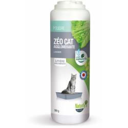 NATURLY'S - Désodorisant pour litière Zéo Cat Agglomérante en 300 g