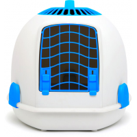 Cage de transport et Maison de toilette 2 en 1 pour chat - IGLOO