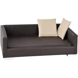 Sofa pour chat imitation  cuir Lucky - SILVIO DESIGN
