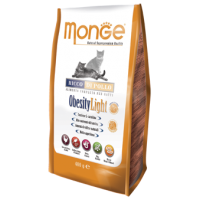 MONGE - Croquettes pour chat Obesity light en sachet 10 x 400 g