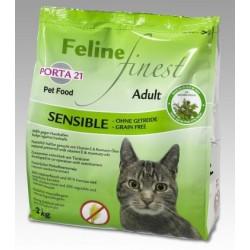 PORTA 21 - Croquettes pour chat Feline Sensible SANS CEREALE