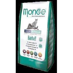 MONGE - Croquettes pour chat Hairball au Poulet frais