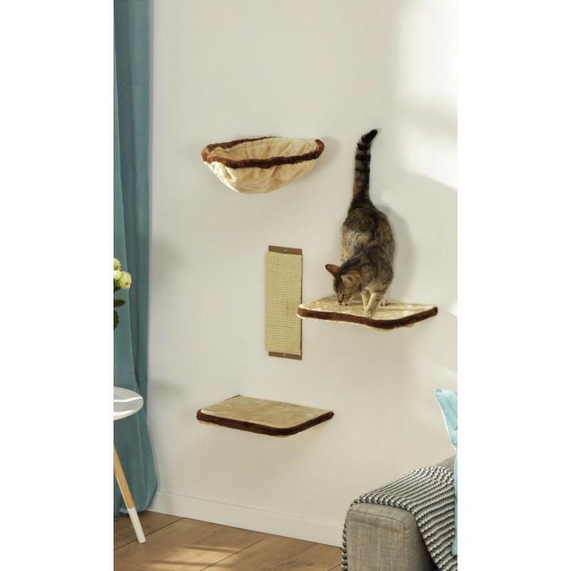 kit de 4 tag res arbre chat cat apart
