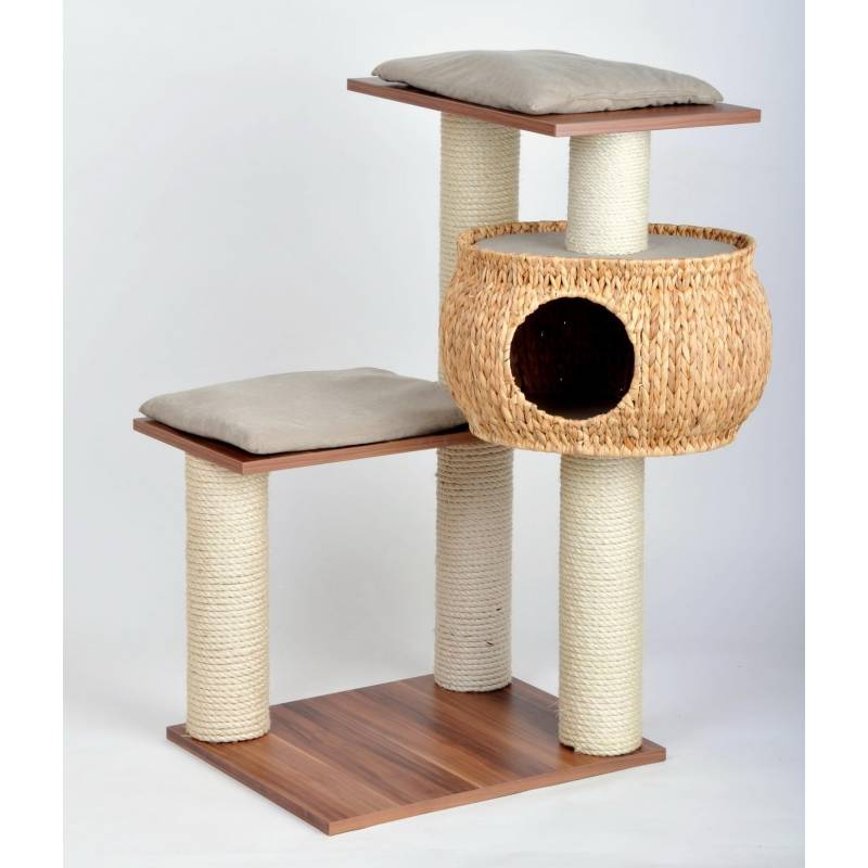 tour pour chat tour en osier moyen silvio design cat apart. Black Bedroom Furniture Sets. Home Design Ideas