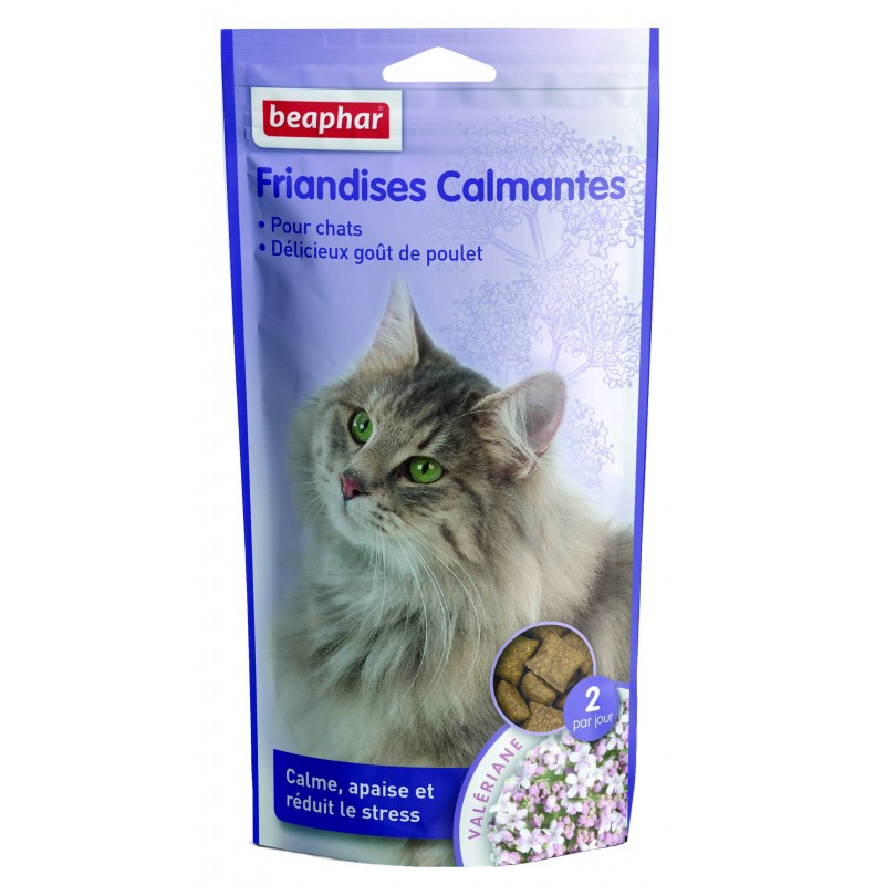 Friandises pour chat Relaxantes - BEAPHAR