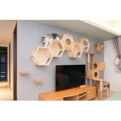 Arbre à chat Mural Busycat - MY ZOO
