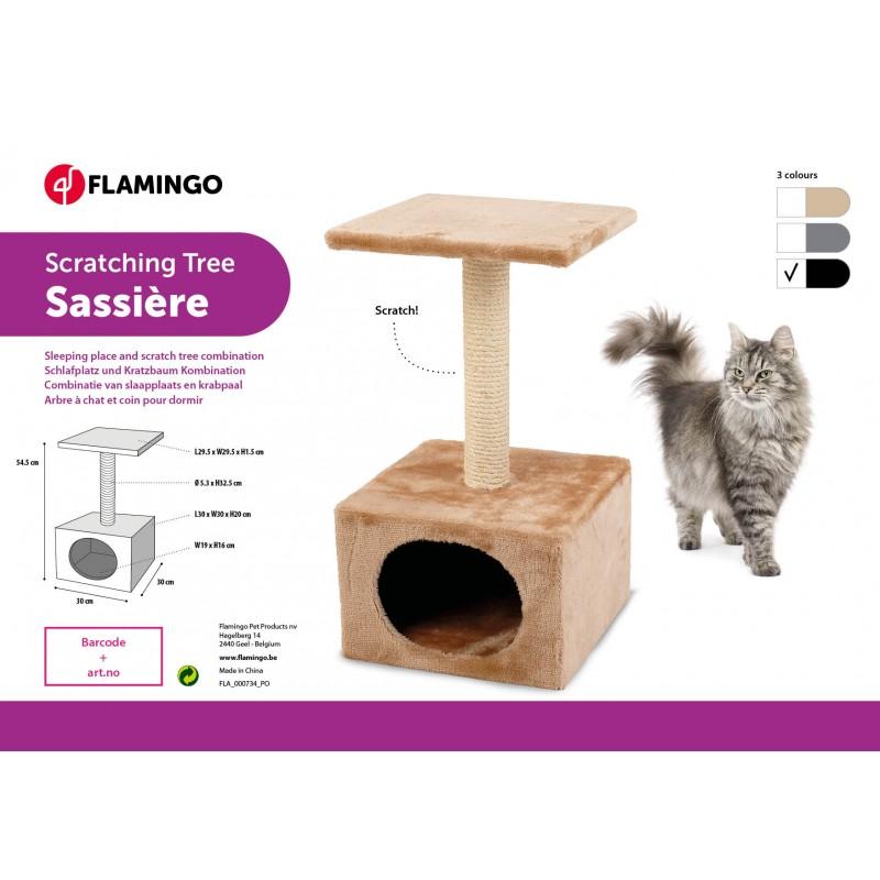 Petit arbre à chaton Sasière 30x30x55cm - FLAMINGO