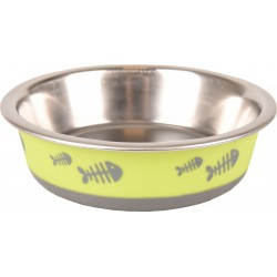 Gamelle pour chat inox Fish...