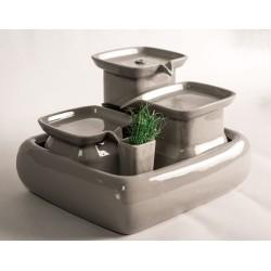 Fontaine à eau pour chat en céramique 3,4 L - MIAUSTORE