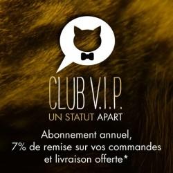 Devenez membre de notre Club VIP chez CAT APART