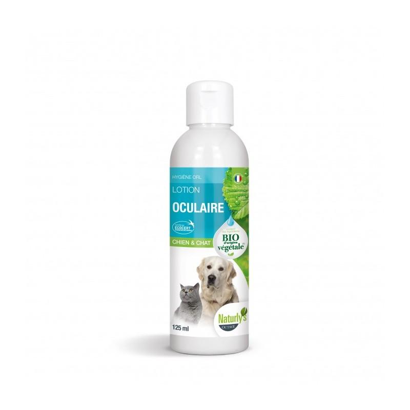 NATURLY'S - Lotion Oculaire BIO pour chat en 125 ml