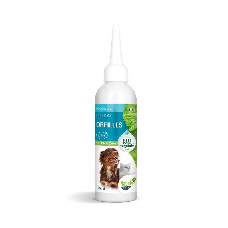 NATURLY'S - Lotion Oreilles BIO pour chat en 125 ml