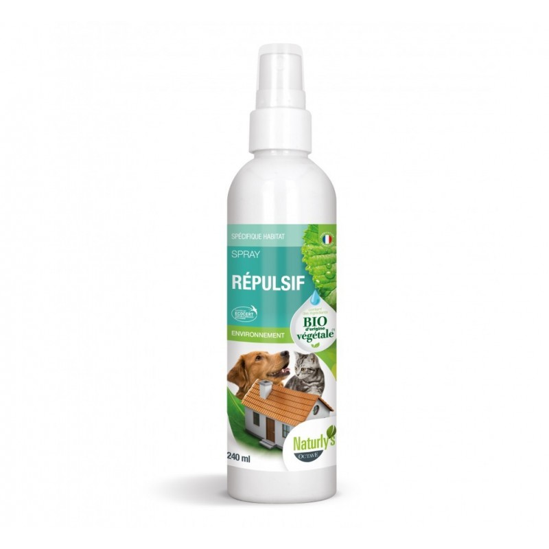 NATURLY'S - Spray Répulsif BIO 240 ml