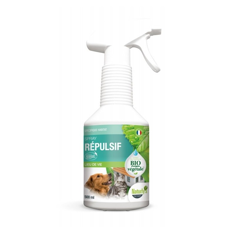 NATURLY'S - Spray Répulsif BIO 500 ml