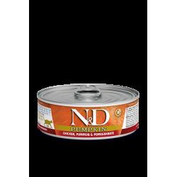 FARMINA - N&D Potiron pâtée complète pour chat 80 g