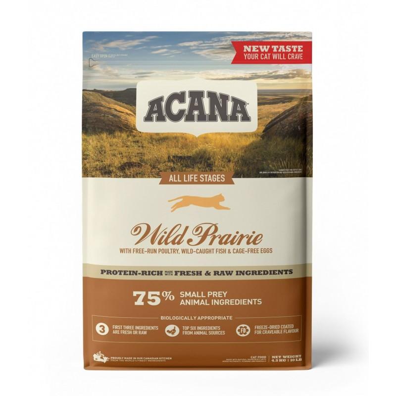 ACANA - Croquettes sans céréale Regionals Wild Prairie pour Chat