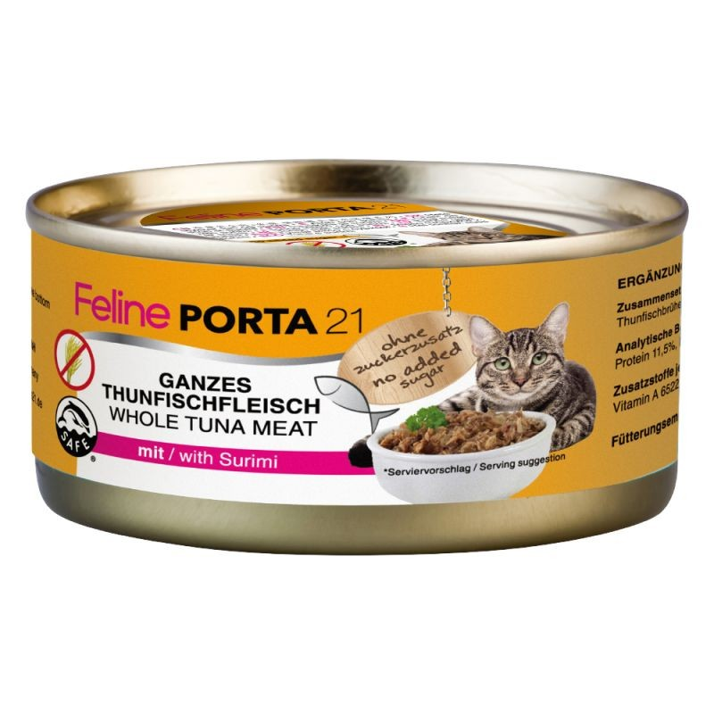 PORTA 21 - Pâtée pour chat 156 g