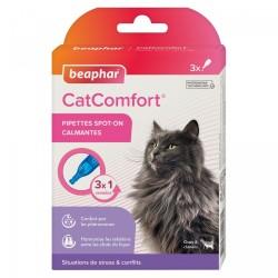 Catcomfort pipettes calmantes pour chat x 3 - BEAPHAR
