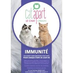 CAT APART - Friandises sans céréale pour chat Fonctionnelles Immunité