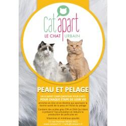 CAT APART - Friandises sans céréale pour chat Peau et Pelage
