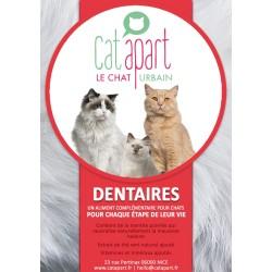 CAT APART - Friandises sans céréale pour chat Fonctionnelles Dentaire