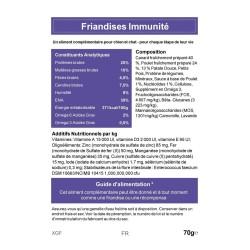 CAT APART - Friandises sans céréale pour chat Immunité 70 g