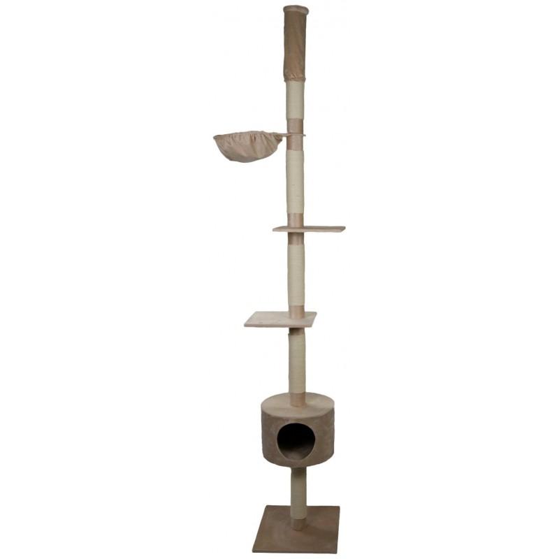 Arbre à chat plafonnier Abakus 230 à 250 cm - SILVIO DESIGN