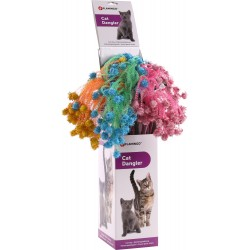 Plumeau pour chat Balles Glitty 42 cm x 1 - FLAMINGO