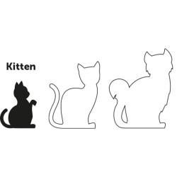 Kit harnais et laisse pour chaton Arwen - FLAMINGO