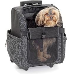 Chariot de transport pour chat et chien Smart - FLAMINGO