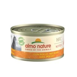 ALMO NATURE - Pâtée pour chaton HFC en boîte 70 g