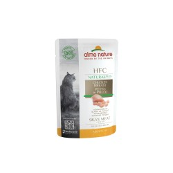 ALMO NATURE - Pâtée pour chat Natural+ 55 g