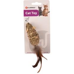 Jouet pour chat à griffer en jonc de mer Babs - FLAMINGO