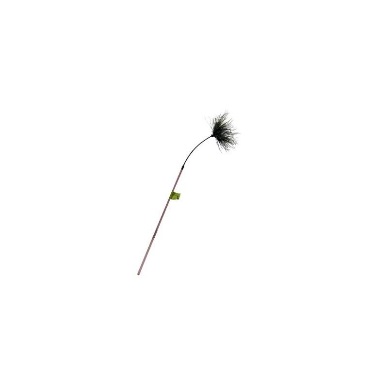 Plumeau pour chat en fibres de plumes de paon