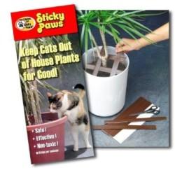 Film de protection Sticky Paws spécial plantes