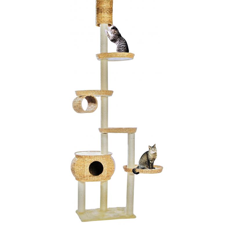 arbre chat haut en mati res naturelles silvio design. Black Bedroom Furniture Sets. Home Design Ideas