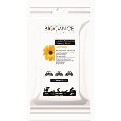 BIOGANCE - Lingettes nettoyantes pour chats
