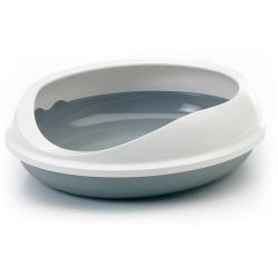 Bac à litière pour chat rond et design Figaro