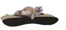 Grand griffoir en carton pour chat Sofo au design moderne  - WOUAPY