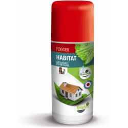 NATURLY'S - Fogger anti-puces naturel pour l'habitat en 150 ml