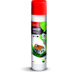 NATURLY'S - Aérosol anti-puces naturel pour l'habitat en 400 ml