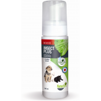 NATURLY'S - Mousse anti-puces naturelle pour chat Insect Plus 140 ml