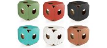 Cube en carton arbre à chat - MIAUMODUL