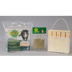 Griffoir écologique pour chat en matériaux naturels - WASABYCAT