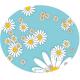 Set de table pour chat motif fleuri - LUCKY-KITTY