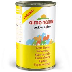 ALMO NATURE - Pâtée pour chat Classic en boîte 6 x 140 g